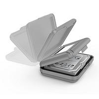 ORICO 奥睿科 PHX35 硬盘收纳包 3.5英寸 灰色组合装-5个