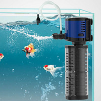 SUNSUN 森森 JQP-500F 鱼缸过滤器 适合60cm以下缸
