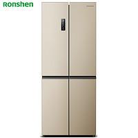 16日0点:Ronshen 容声 全净系列 BCD-451WD11FP 十字对开门冰箱 451L
