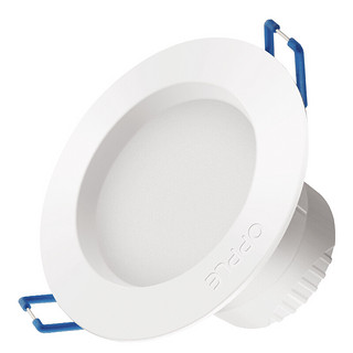 OPPLE 欧普照明 超薄筒灯 3W 白光 象牙白