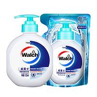 Walch 威露士 健康抑菌洗手液 525ml+补充装 525ml