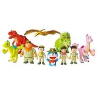 玩模总动员、PLUS会员:TAKARA TOMY 多美 哆啦A梦剧场版 《大雄的新恐龙》同款玩具套装
