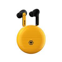 Tezo TT15B 狼队版 入耳式真无线蓝牙耳机 黄色