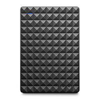 SEAGATE 希捷 Expansion系列 黑钻版 2.5英寸Micro-B移动机械硬盘 2TB USB 3.0 黑色