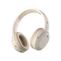 EDIFIER 漫步者 W820NB 耳罩式头戴式主动降噪蓝牙耳机 云岩白