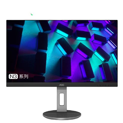 AOC 冠捷 U系列 U27N3C 27英寸 IPS 显示器(3840×2160、60Hz、111%sRGB、HDR10、Type-C 90W)