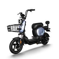 PALLA 新大洲 K9 电动自行车 TDT38Z 48V24Ah锂电池 金属灰
