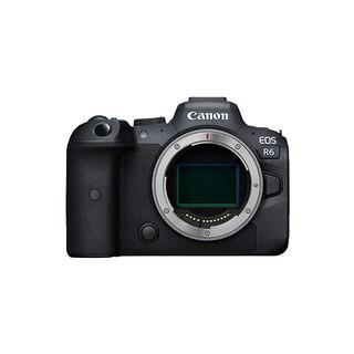 Canon 佳能 EOS R6 全画幅 微单相机 黑色 单机身