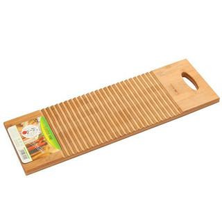 SUNCHA 双枪 Suncha)竹制搓衣板 家用洗衣板(55cm*18cm*2cm)