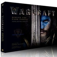 《Warcraft : Behind the Dark Portal》 魔兽世界电影艺术设定画册 英文原版
