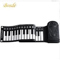 博仕德 手卷钢琴  49键标准款-雅致黑【配大礼包】
