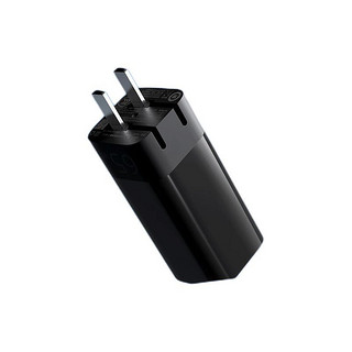 ZMI 紫米 氮化镓GaN线充套装PD65W双口(1A1C)快充头iPhone13小米Switch便携可折叠充电器+1.5mC-C数据线 HA729