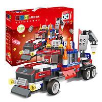 布鲁可 交通工具系列 61110 布布百变重型卡车
