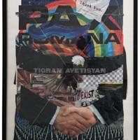 HOWstore SS19 Tigran Avetisyan 51.9 x 72.1 cm 潮流服装艺术装饰挂画