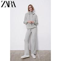 ZARA 09598047802 女装连帽针织卫衣
