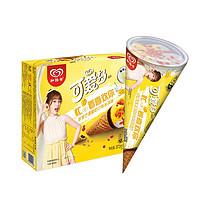 6日0点、PLUS会员:WALL'S 和路雪 可爱多甜筒 芒果酸奶口味 冰淇淋雪糕 62g*6支
