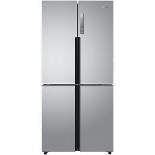 Leader 统帅 BCD-475WLDPC 风冷十字对开门冰箱 475L 银色