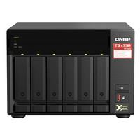 QNAP 威联通 TS-673A 6盘位NAS (V1500B、8GB)