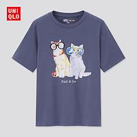 UNIQLO 优衣库 PAUL & JOE 女士印花T恤 440696
