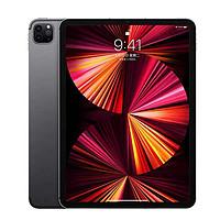 Apple 苹果 iPad Pro11 2021款 11英寸 平板电脑(2388*1668dpi、M1、8GB、128GB、WLAN版、深空灰)