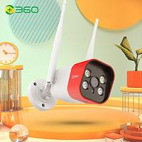 360 摄像头监控摄像头智能摄像机 2.5K户外枪机 防水室外监控声光报警400W高清无线网络wifi W4 Max