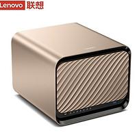 23:59截止、24期免息:Lenovo 聯想 X1 個人云儲存(五盤位無盤版)NAS網絡存儲 4GB無盤版+4T專用硬盤x3