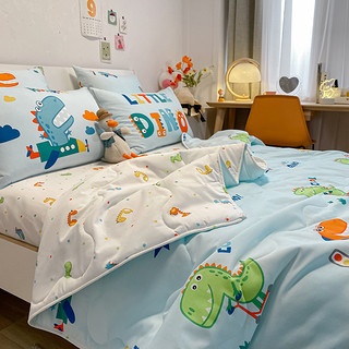 Dohia 多喜爱 全棉卡通空调被 小小霸王 120*150cm