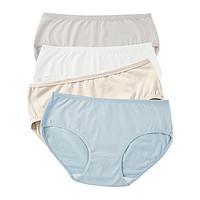88VIP:拾来九八 女士内裤 4条装