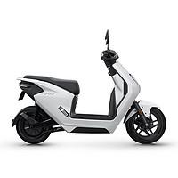 五羊-本田U-GO电动摩托车电动轻便摩托车 1200W 电动摩托车 塔夫绸白