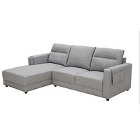 KUKa 顾家家居 3002 三人位布艺沙发 科技布 躺右款