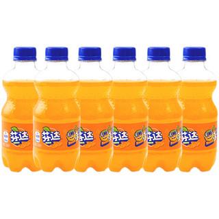 Coca-Cola 可口可乐 芬达 橙味汽水 300ml*6瓶