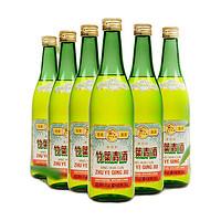 zhuyeqing tea 竹叶青 复古竹 45%vol 清香型白酒 500ml*6瓶 整箱装