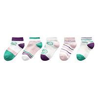 馨颂 U028F 儿童袜子 5双装 纯真微笑款