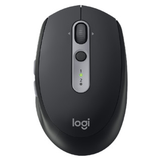 logitech 罗技 M590 2.4G蓝牙 双模无线鼠标 1000DPI 石墨黑