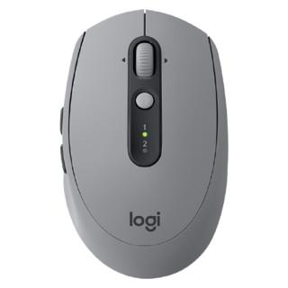 logitech 罗技 Logitech)M590轻音鼠标 无线蓝牙鼠标 办公鼠标 对称鼠标 带优联接收器 砂岩灰