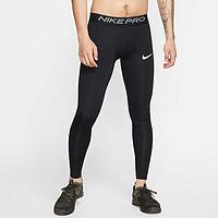 PRO 速干健身 男子训练紧身裤 黑