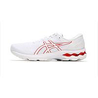 GEL-KAYANO 27 21新款 男款旗舰专业跑步鞋 缓震支撑男跑鞋 白/红白/红