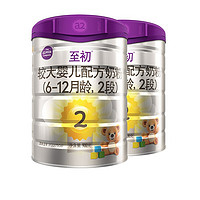 a2 艾尔 至初系列 较大婴儿奶粉 国行版 2段 900g*2罐