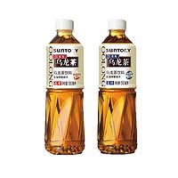 SUNTORY 三得利 乌龙茶饮料 无糖/低糖 500ml*5瓶