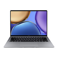 HONOR 荣耀 MagicBook V 14 11代酷睿版 14.0英寸 轻薄本 灰色(酷睿i5-11320H、核芯显卡、16GB、512GB SSD、2.5K、LTPS、90Hz、HGE-W5651T)