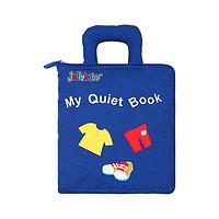 jollybaby WLTH8254J 我的安静布书 蓝色