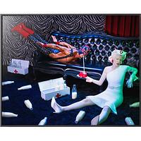 PICA Photo 拾相记 Pol Kurucz 作品《摔角手之家》30 x 33 cm 哑光纤维艺术纸 限量50版