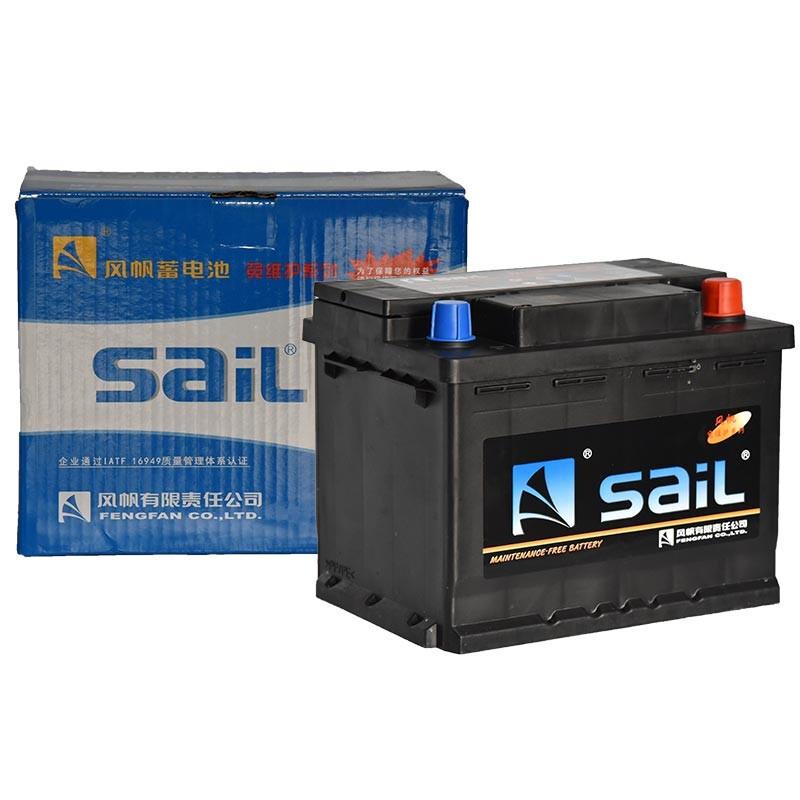 sail 风帆 免维护 55D26L 汽车蓄电池