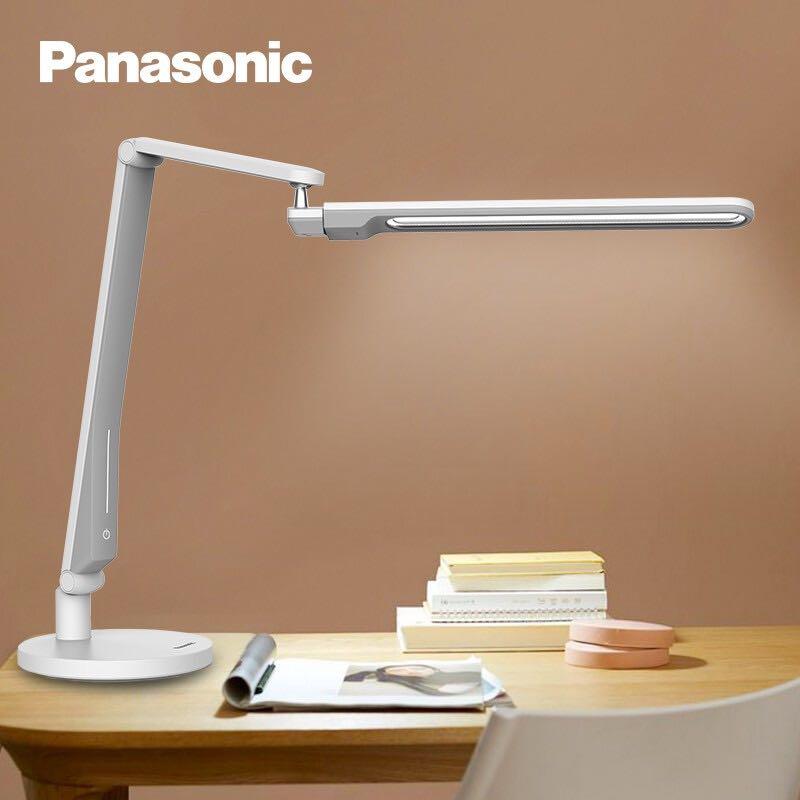 Panasonic 松下 HHLT0554W 直灯头护眼台灯 致玫白色底座款